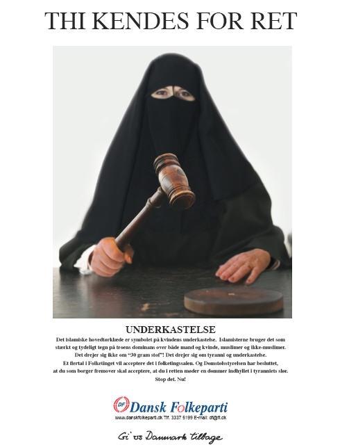 Sarkozys parti vill forbjuda burka