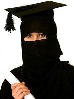 Graduierte-Burka